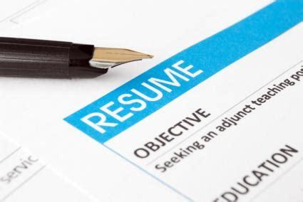 Resume in bullet form